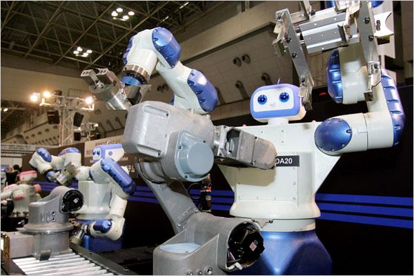 SEMPRE PIÙ IMPONENTE L'AUTOMAZIONE ROBOTICA