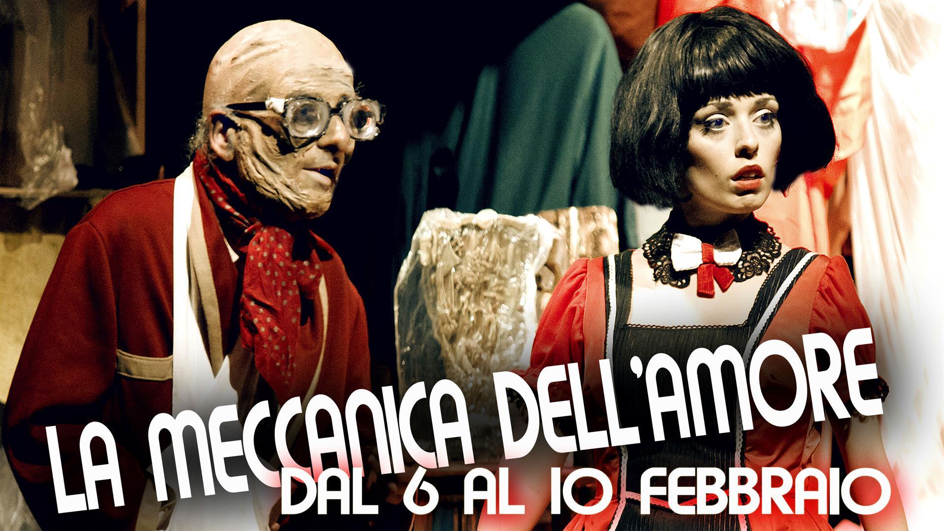 """Firenze, al teatro Lumière, ultimi posti per """"La Meccanica dell'amore"""" di Alessandro Riccio"""