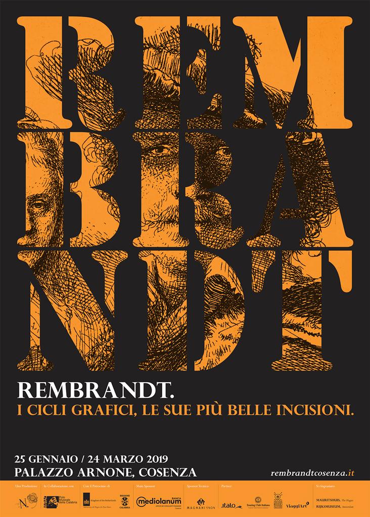 Rembrandt. I cicli grafici, le sue più belle incisioni Cosenza – Palazzo Arnone Fino al 24 marzo 2019