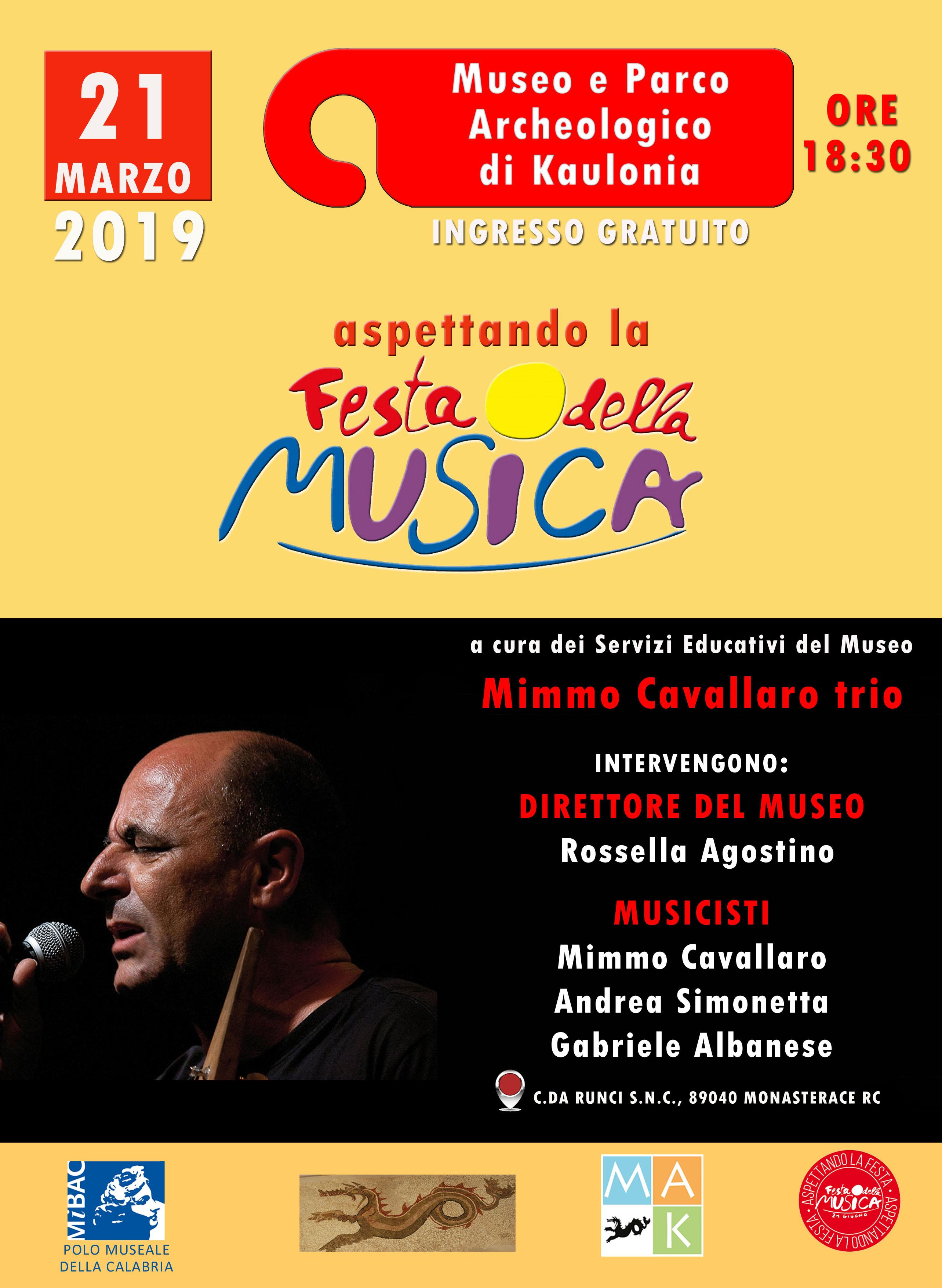 """A Monasterace (Reggio Calabria) : """"Aspettando la Festa della musica"""""""