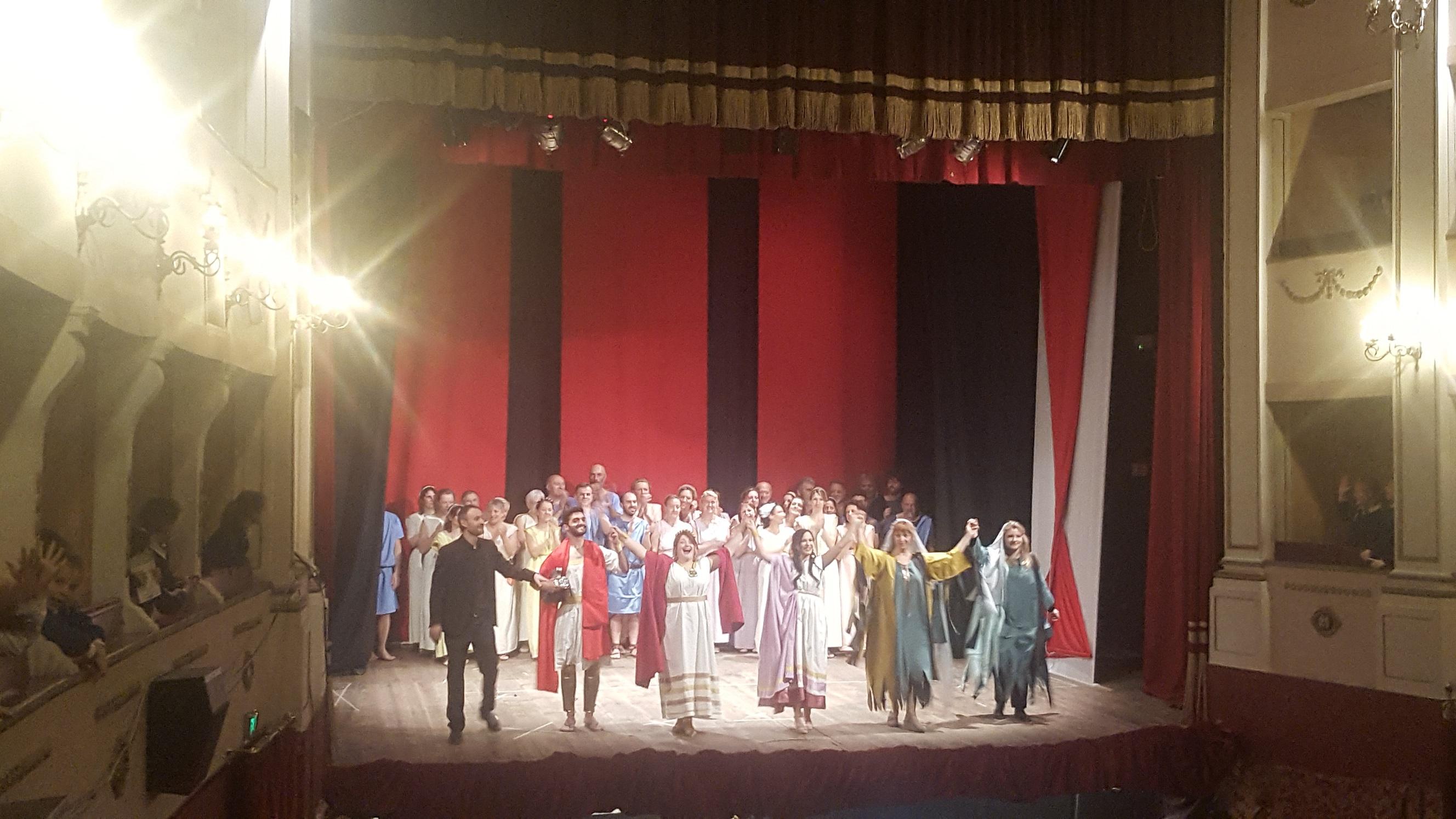 Enea e Didone al teatro Giotto di Borgo San Lorenzo: uno spettacolo davvero speciale!