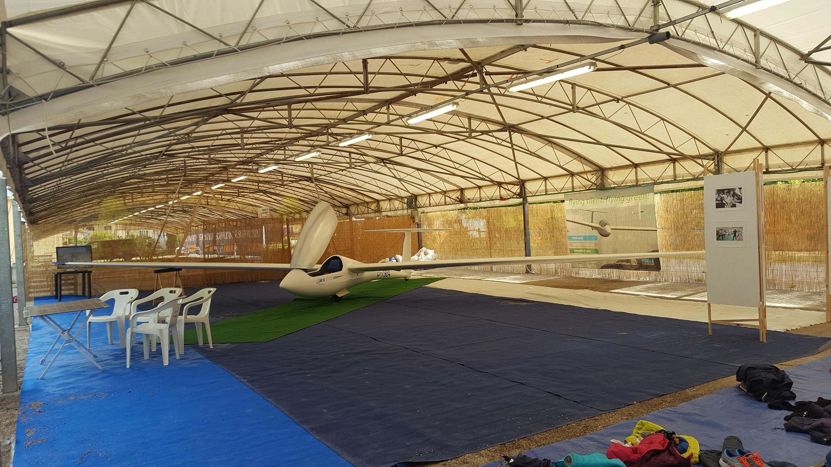 Borgo San Lorenzo: A Vivi lo Sport si vola con l'aliante!