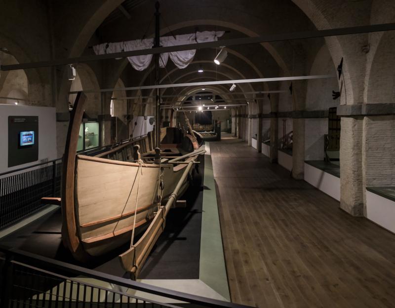 A Pisa il ministro Bonisoli apre il Museo delle Navi Antichedi Pisa dopo vent' anni di ricerca e restauro