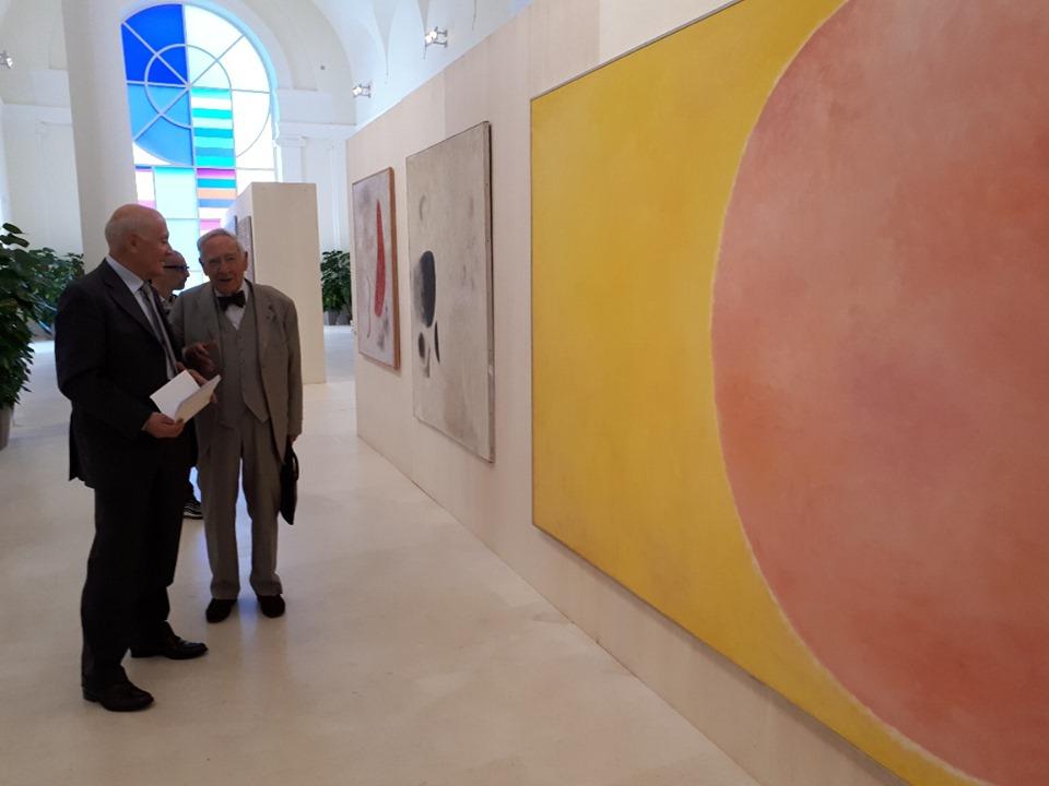 """Inaugurata all'Aquila la mostra """"Sadun100"""" in ricordo dell'artista Piero Sadun a cento anni dalla nascita."""
