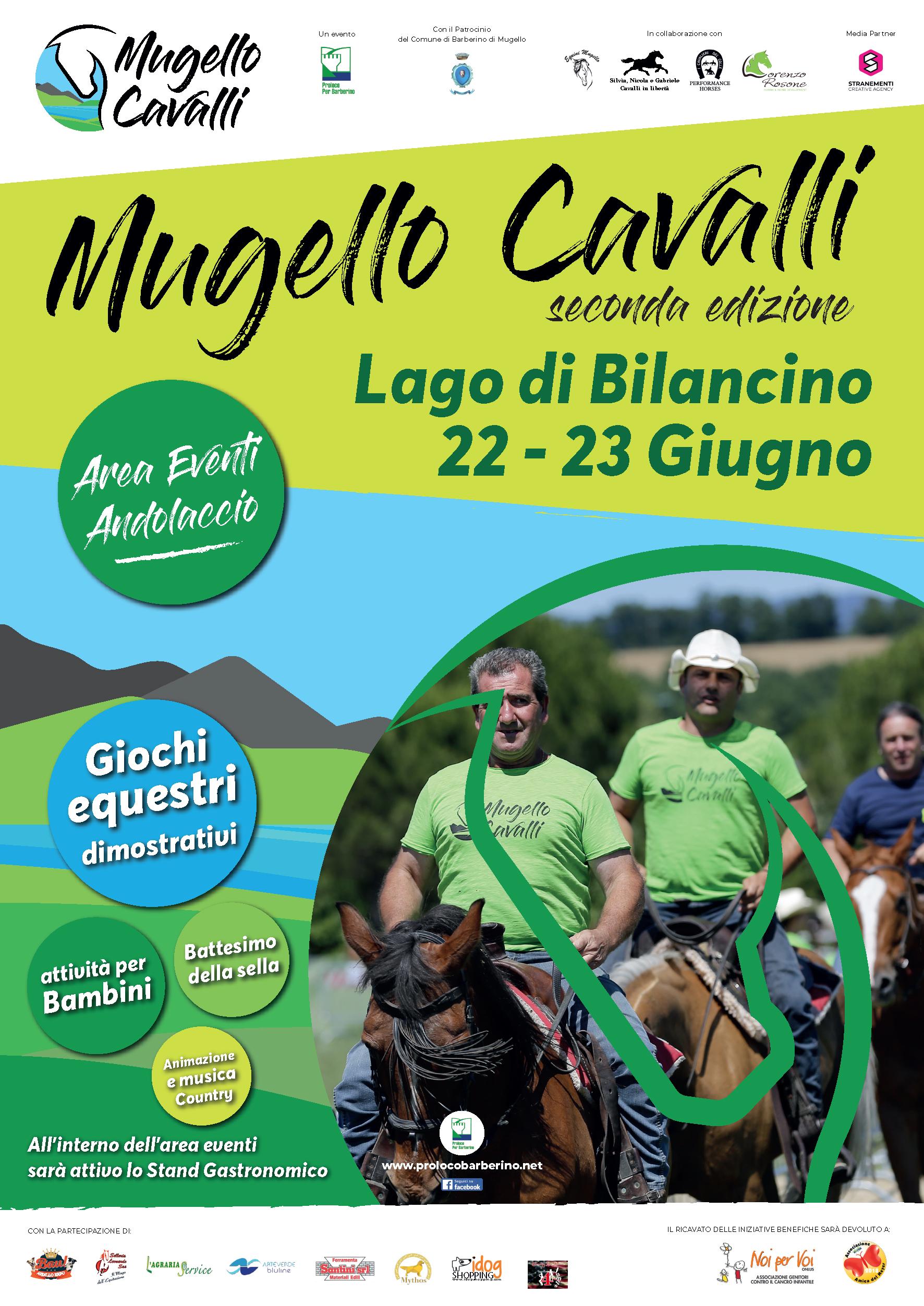 """Toscana: A Bilancino arriva le seconda edizione di """"Mugello Cavalli"""""""
