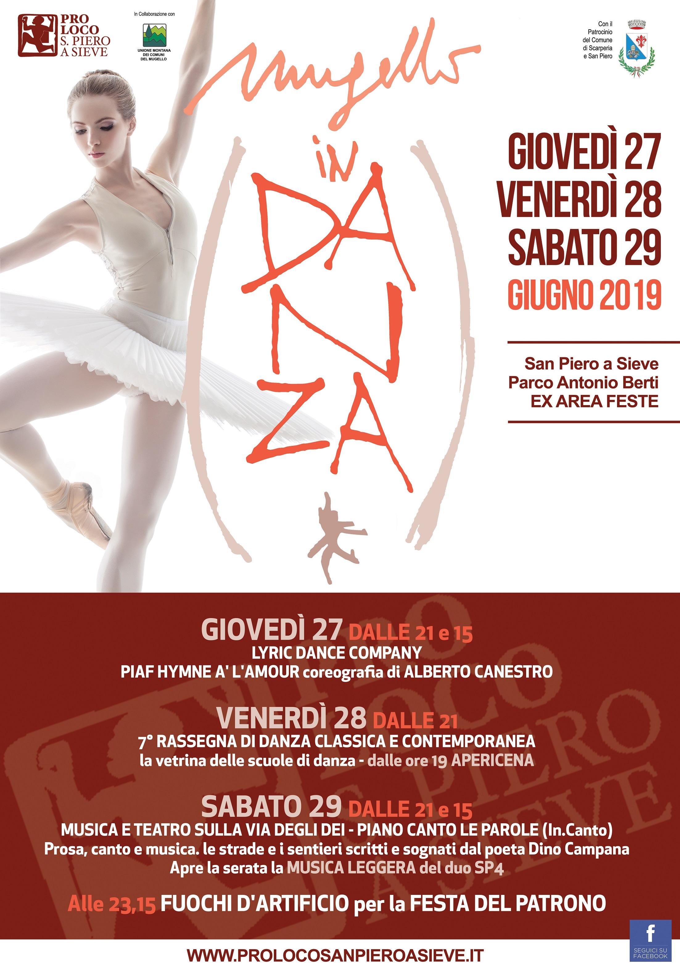"""Toscana: A San Piero a Sieve torna """"Mugello in Danza"""" tra arte e cultura"""