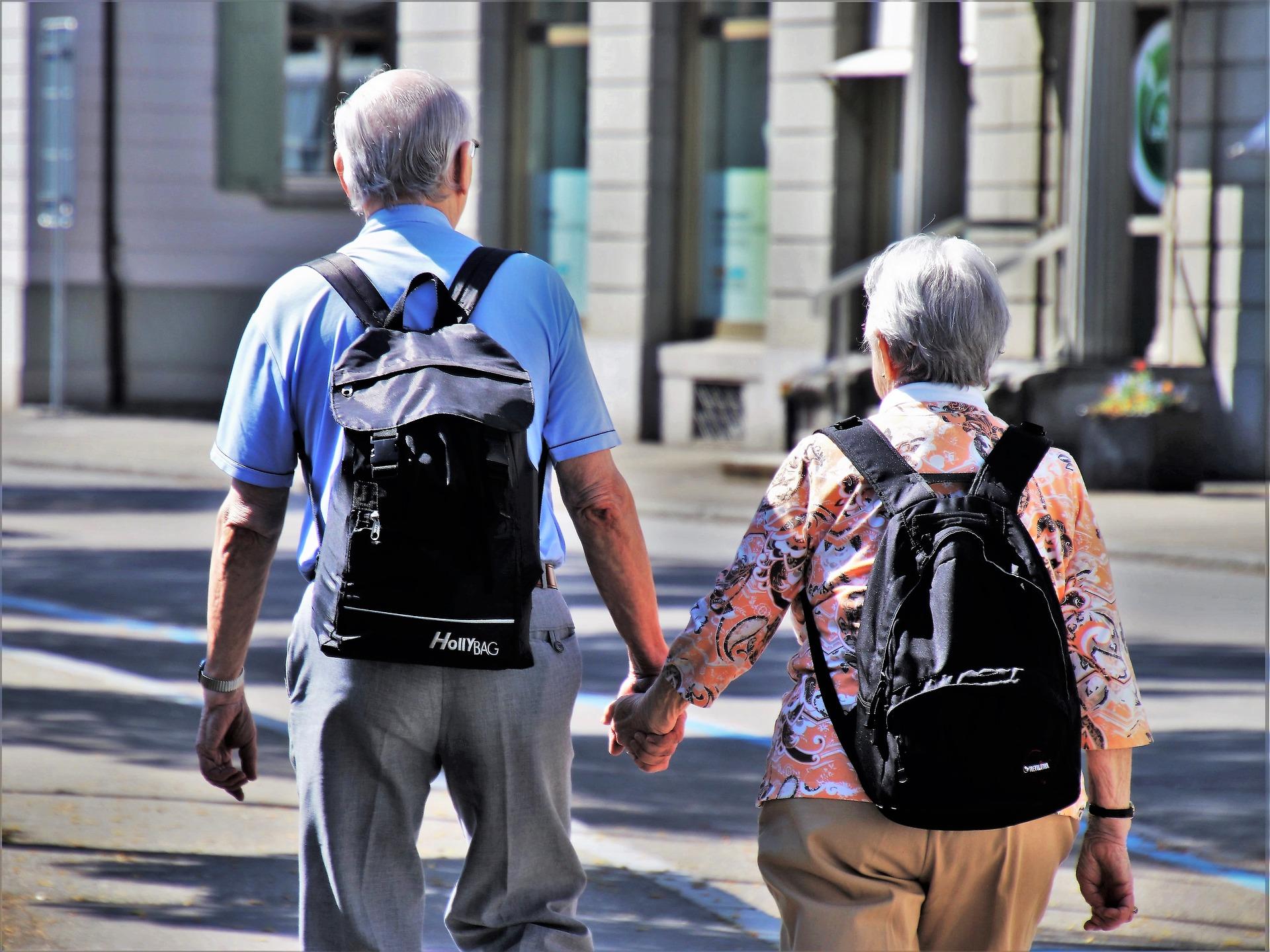 Pensionati in vacanza: la terza età è fatta per viaggiare