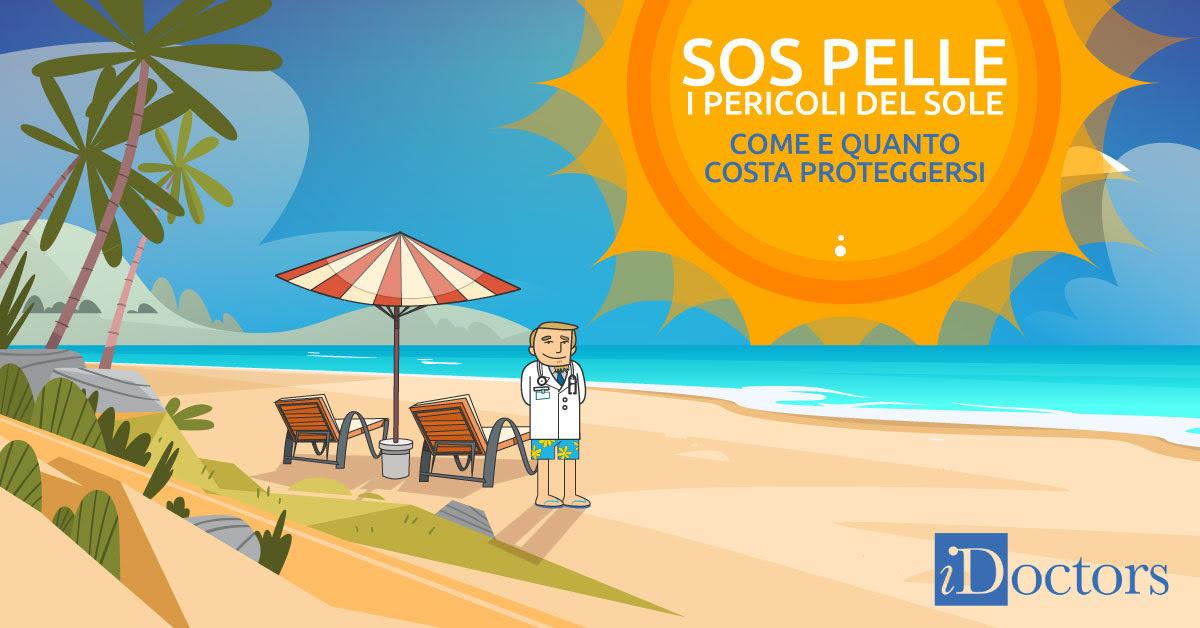 SOS Pelle: l'infografica per difendersi dai pericoli del sole