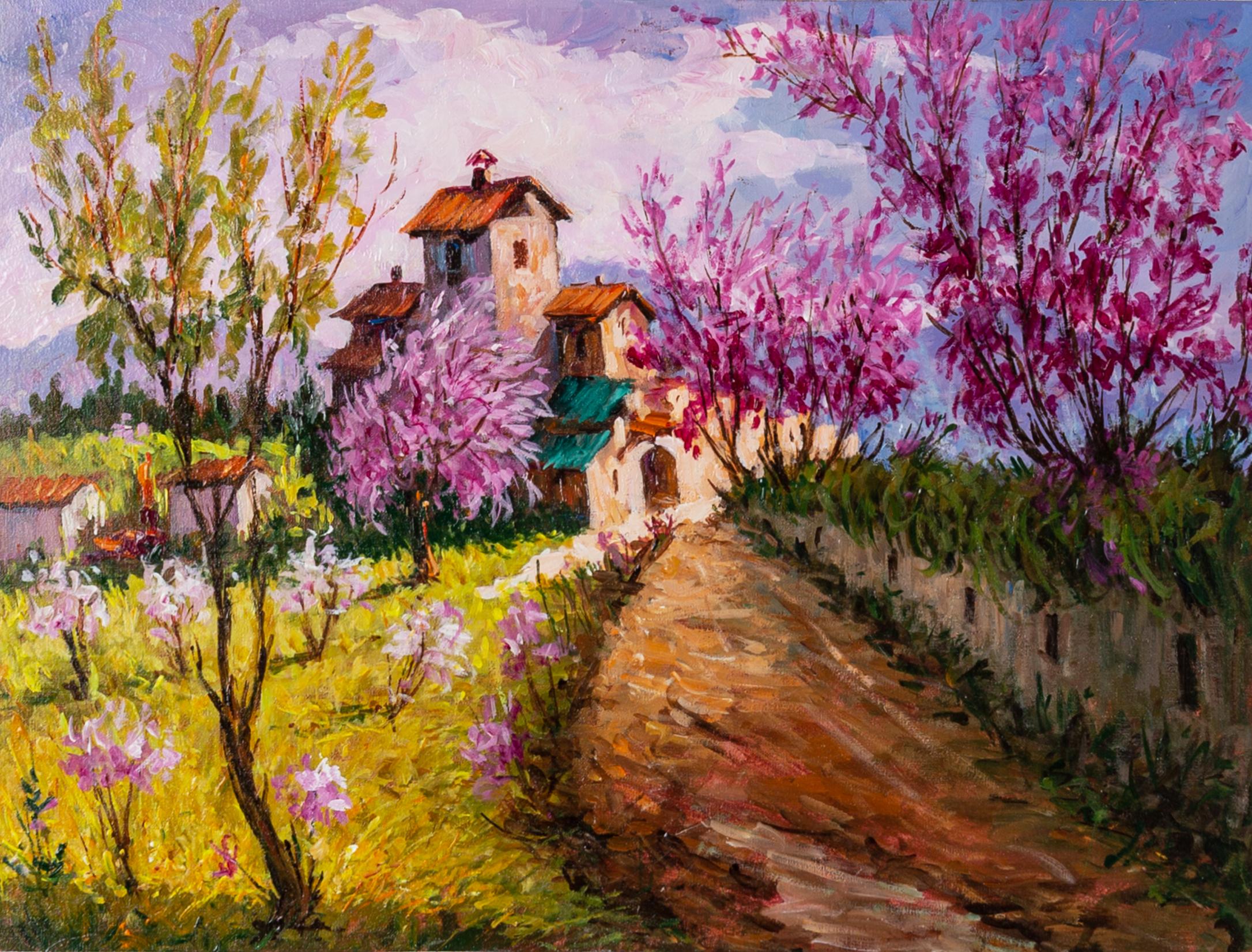 """A 25 anni dalla morte, grande Retrospettiva  dell'artista AMLETO CENCIONI, """"Maestro del paesaggio abruzzese""""."""