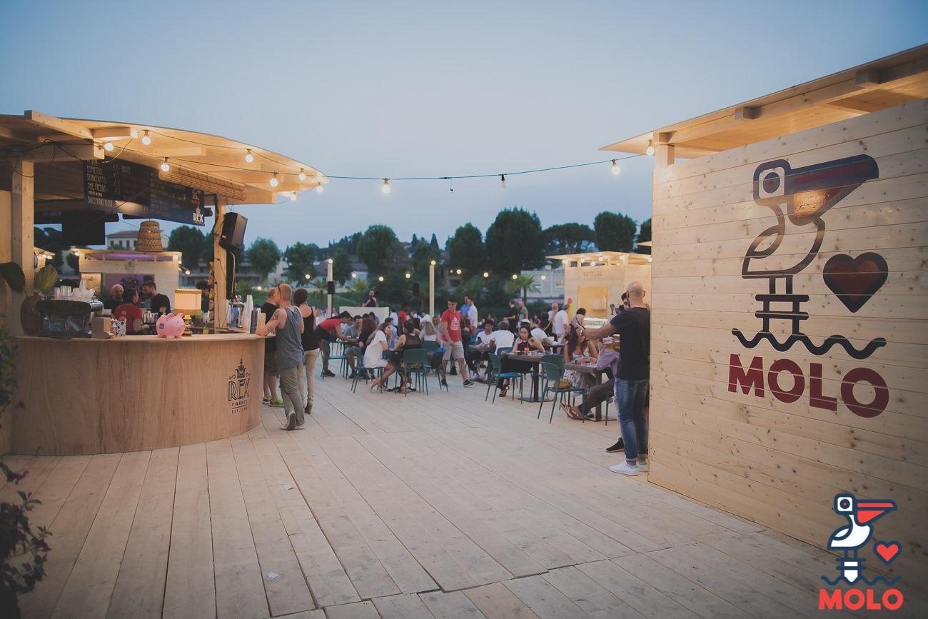 La settimana di Ferragosto allo spazio estivo il Molo: Dj set, aperiplogging, rafting sull'Arno