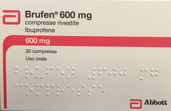 Ritirato dalle farmacie antinfiammatorio BRUFEN: i numeri dei LOTTI e le SCADENZE