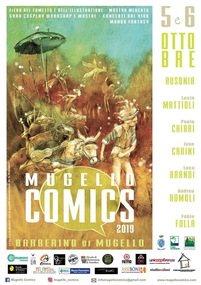 MUGELLO COMICS 2019 – Arrivano le Fate!