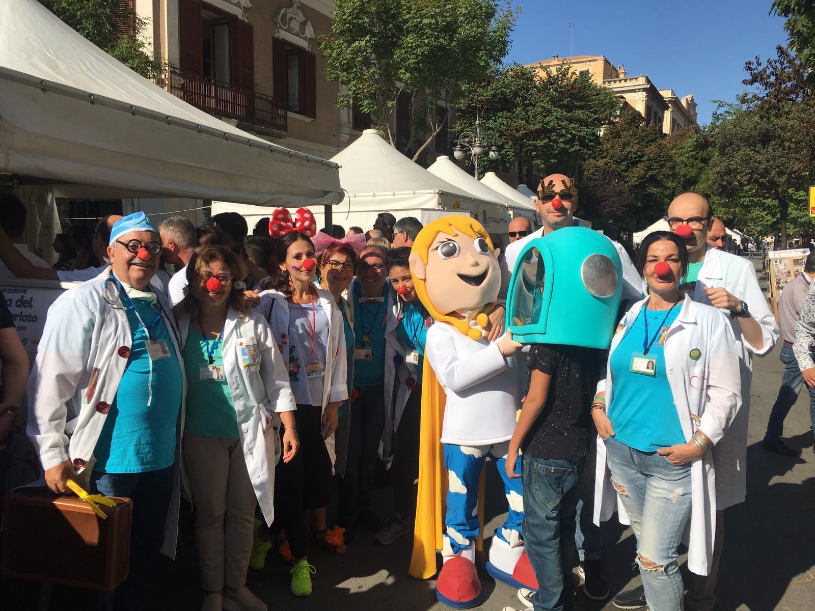 Clown dottori premiati nella giornata del volontariato