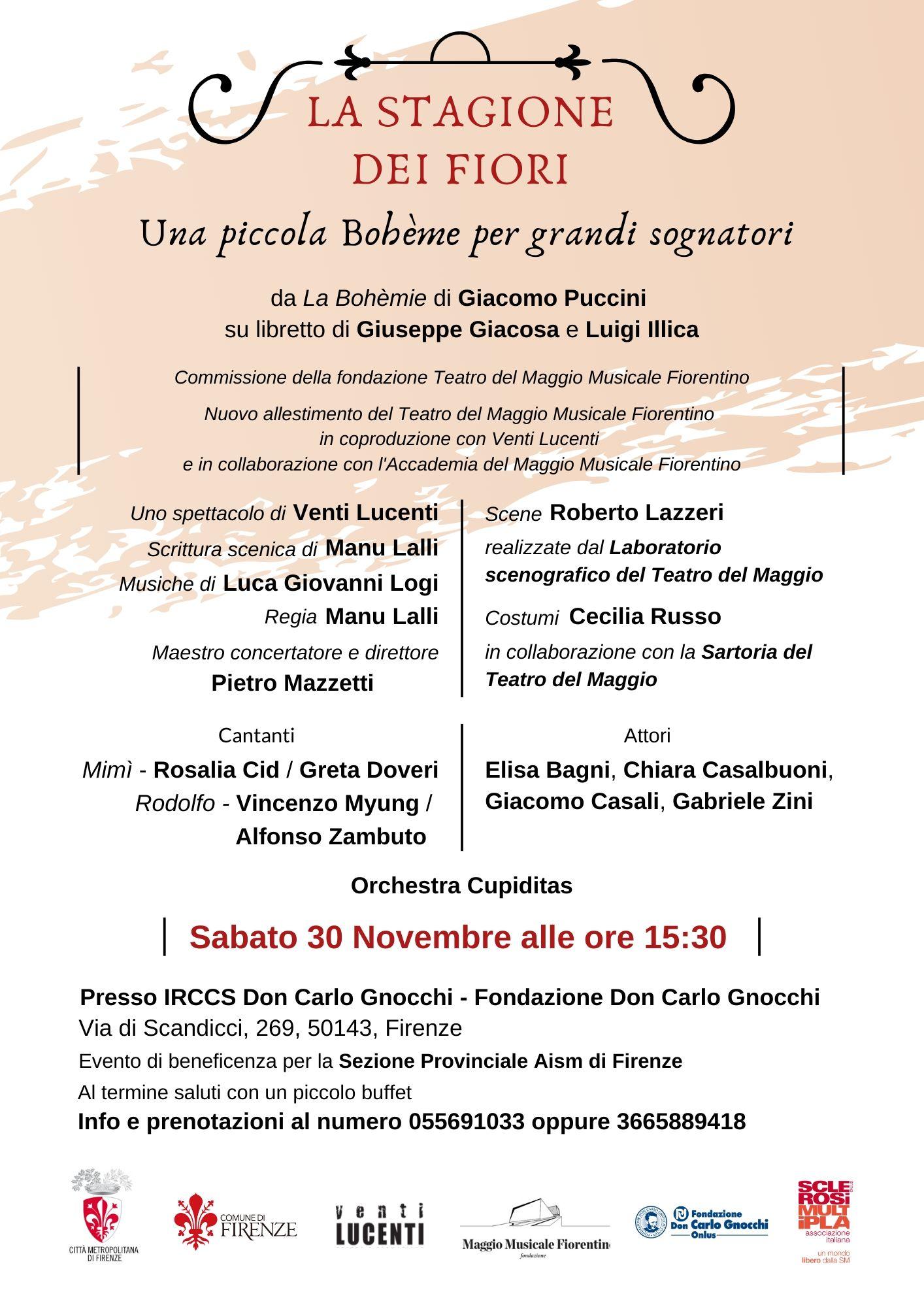 Firenze: AISM organizza eventi di beneficenza per i malati di sclerosi multipla