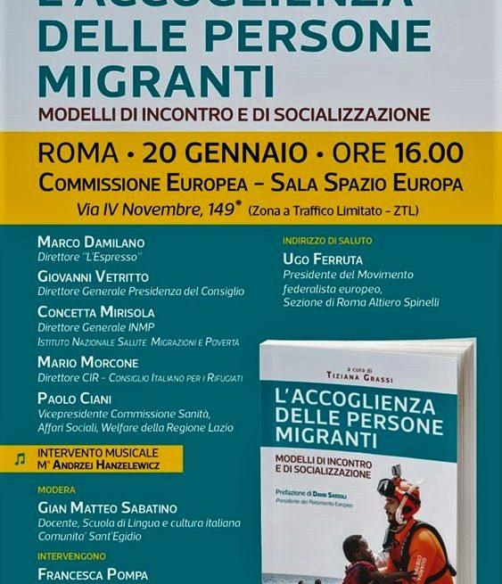 """""""L'accoglienza delle persone migranti"""", presentazioni a Roma e L'Aquila"""
