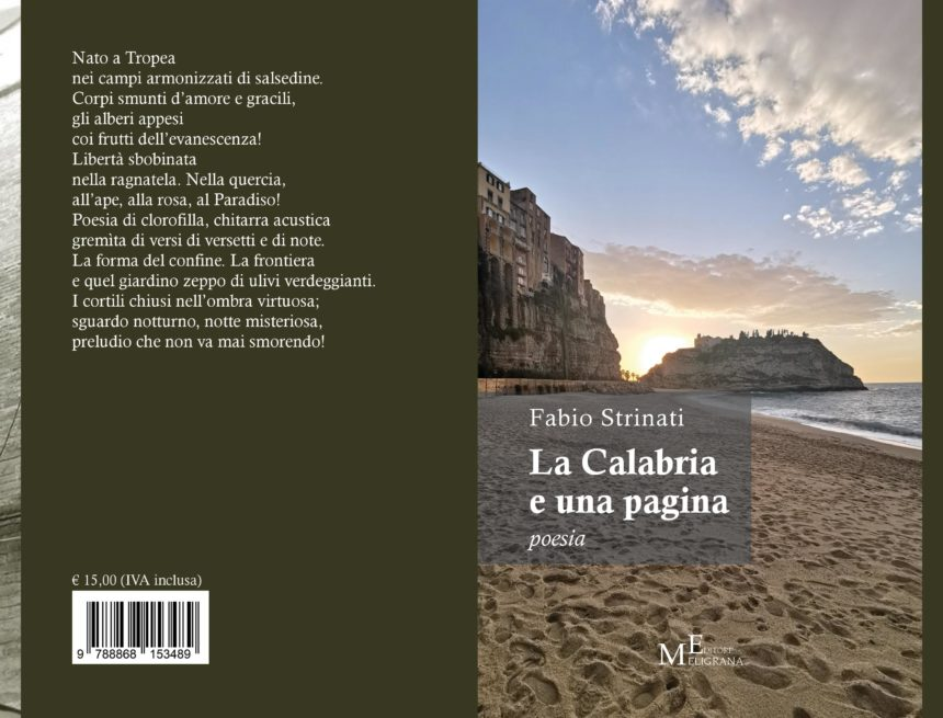 """""""La Calabria e una pagina"""" il nuovo libro di Fabio Strinati"""