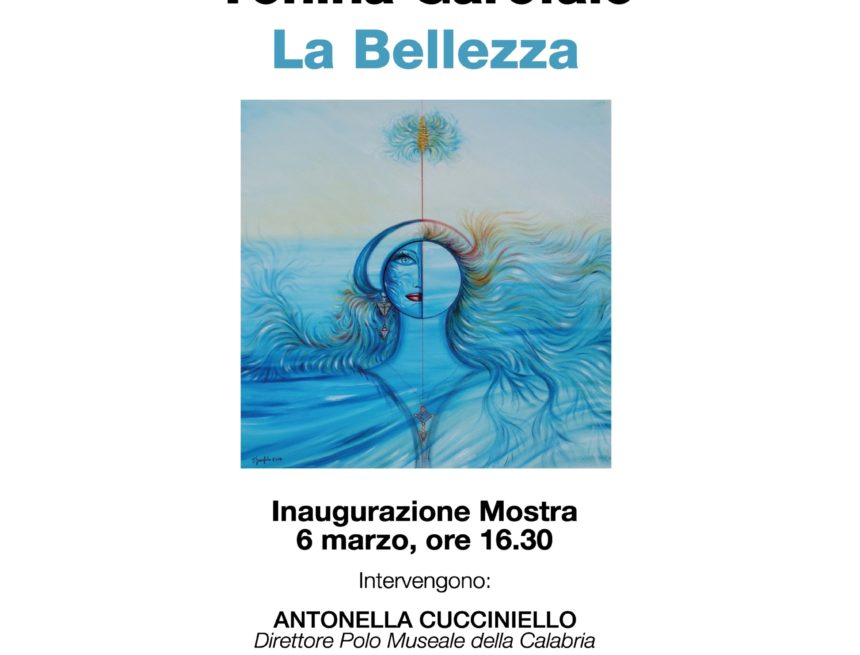 """Cosenza: inaugurazione della mostra """"La bellezza"""""""