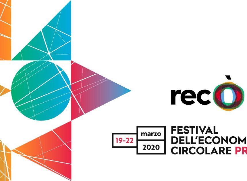 Prato capitale dell'economia circolare. Dal 19 al 22 marzo la seconda edizione di Recò