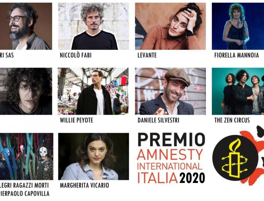 Quale sarà la canzone dell'anno per i diritti umani?