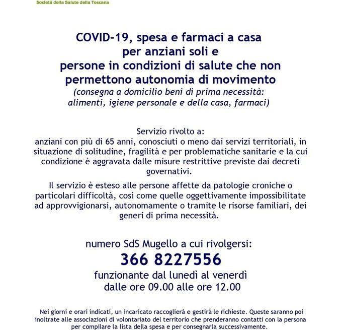 San Piero a Sieve (FI)Volontari Pro Loco a disposizione delle categorie più fragili