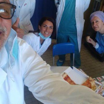 A Pescara pizze gratis al personale sanitario