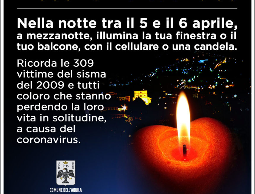 Anniversario Sisma 6 aprile 2009
