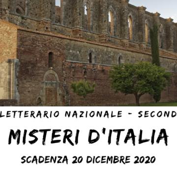 """""""NATI PER SCRIVERE"""" LANCIA IL CONCORSO LETTERARIO """"MISTERI D'ITALIA"""""""