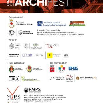"""Prima edizione di """"2050 Archifest""""a Colle Val d'Elsa"""