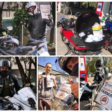"""AISM Firenze e """"Angeli in Moto"""" insieme per la consegna di farmaci a domicilio"""